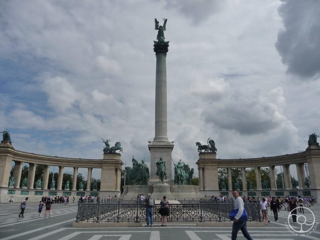 Budapest place des heros 1