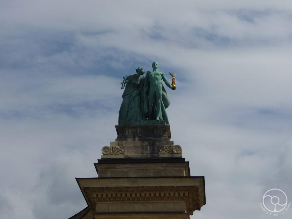 Budapest place des heros 2